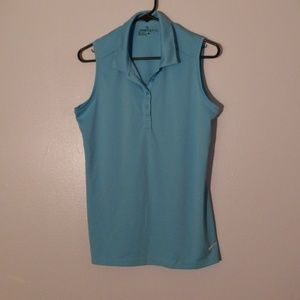 Nike golf sleeveless shirt